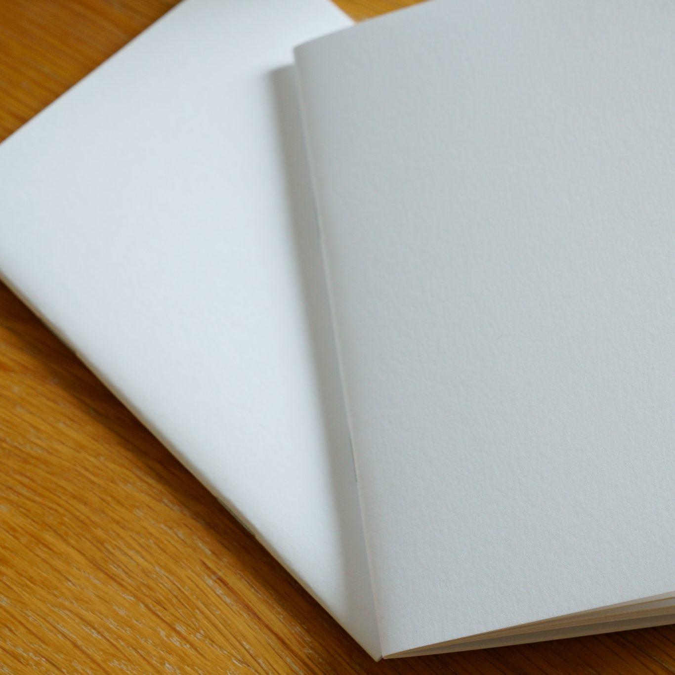 純白筆記本A6