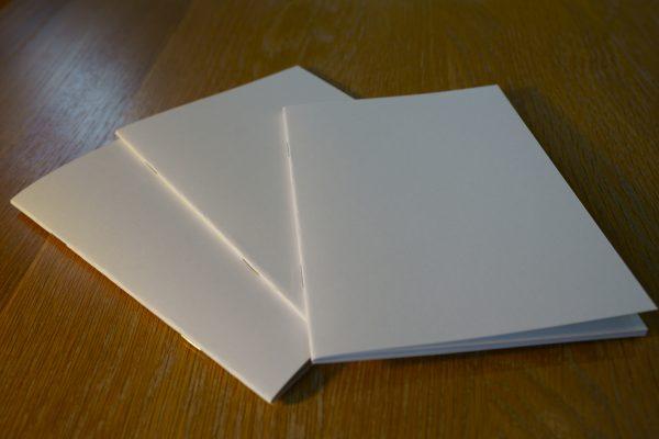 純白筆記本 A5 三本組